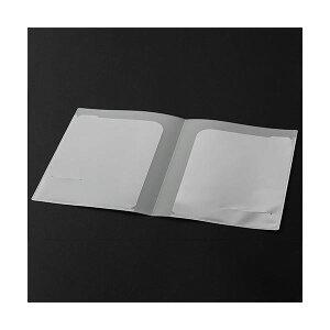 【送料無料】(まとめ)TANOSEE クリアポケットホルダーA4タテ(見開きA3) 2ポケット 1枚 【×50セット】 生活用品・インテリア・雑貨 文具・オフィス用品 ファイル・バインダー クリアケース・