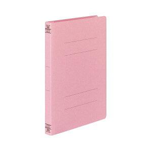(まとめ) コクヨ フラットファイルW(厚とじ) A4タテ 250枚収容 背幅28mm ピンク フ-W10P 1パック(10冊) 【×10セット】 生活用品・インテリア・雑貨 文具・オフィス用品 ファイル・バインダー クリ