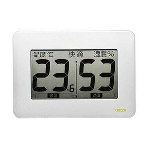 【送料無料】(まとめ)クレセル 超大画面デジタル温湿度計CR-3000W 1個【×3セット】 ダイエット・健康 健康器具 温度計・湿度計 レビュー投稿で次回使える2000円クーポン全員にプレゼント