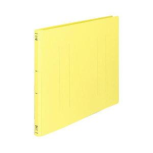 (まとめ) コクヨ フラットファイル(PP) A3ヨコ 150枚収容 背幅20mm 黄 フ-H48Y 1セット(10冊) 【×5セット】 生活用品・インテリア・雑貨 文具・オフィス用品 ファイル・バインダー クリアケース・