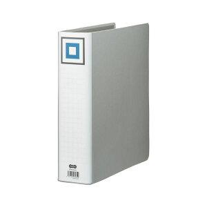【送料無料】(まとめ) TANOSEE 両開きパイプ式ファイルV A4タテ 600枚収容 背幅75mm シルバー 1冊 【×30セット】 生活用品・インテリア・雑貨 文具・オフィス用品 ファイル・バインダー クリアケ