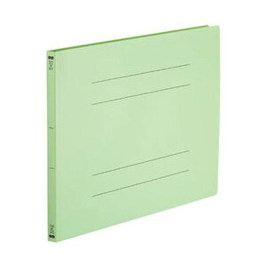 (まとめ)TANOSEE フラットファイル(再生PP)A3ヨコ 150枚収容 背幅18mm グリーン 1パック(5冊)【×10セット】 生活用品・インテリア・雑貨 文具・オフィス用品 ファイル・バインダー その他