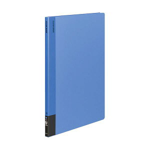 【送料無料】コクヨ クリヤーブック(固定式)B4タテ 20ポケット 背幅18mm 青 ラ-564NB 1セット(8冊) 生活用品・インテリア・雑貨 文具・オフィス用品 ファイル・バインダー クリアケース・