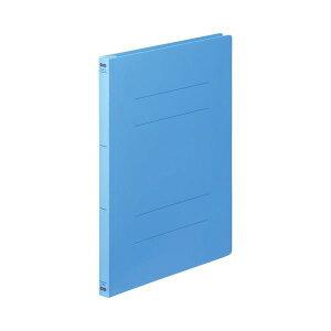 (まとめ) TANOSEE フラットファイル(PP) A4タテ 150枚収容 背幅17mm ブルー 1セット(25冊:5冊×5パック) 【×5セット】 生活用品・インテリア・雑貨 文具・オフィス用品 ファイル・バインダー