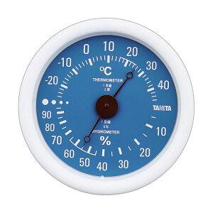 【送料無料】(まとめ)タニタ アナログ温湿度計 ブルーTT-515-BL 1個【×5セット】 ダイエット・健康 健康器具 温度計・湿度計 レビュー投稿で次回使える2000円クーポン全員にプレゼント