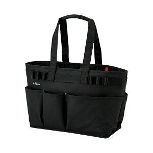 【送料無料】(まとめ)LIHITLAB ALTNA ツールバッグ ヨコ型 ブラック A-7750-24(×2セット) 生活用品・インテリア・雑貨 文具・オフィス用品 ファイル・バインダー クリアケース・クリアファイ