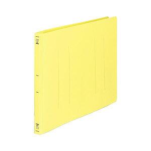 (まとめ) コクヨ フラットファイル(PP) B4ヨコ 150枚収容 背幅20mm 黄 フ-H19Y 1セット(10冊) 【×5セット】 生活用品・インテリア・雑貨 文具・オフィス用品 ファイル・バインダー クリアケース・