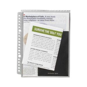 【送料無料】(まとめ) ライオン事務器 安心チャックポケットA5タテ 2・20穴 AP-A5 1パック(5枚) 【×30セット】 生活用品・インテリア・雑貨 文具・オフィス用品 ファイル・バインダー クリアケ