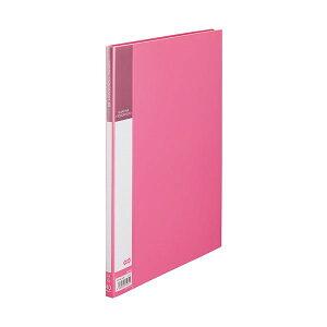 (まとめ) TANOSEE書類が入れやすいクリヤーファイル「ヨコカラ」 A4タテ 40ポケット 背幅11mm ピンク 1冊 【×30セット】 生活用品・インテリア・雑貨 文具・オフィス用品 ファイル・バインダー