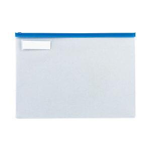 (まとめ) TANOSEE クリヤーケース(クリアケース) B4ヨコ 青 1枚 【×30セット】 生活用品・インテリア・雑貨 文具・オフィス用品 ファイル・バインダー クリアケース・クリアファイル レビュ