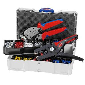【送料無料】KNIPEX クニペックス 圧着ペンチセット 9790-14 スポーツ・レジャー DIY・工具 その他のDIY・工具 レビュー投稿で次回使える2000円クーポン全員にプレゼント