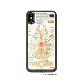 【送料無料】STAR WARS スター・ウォーズ グッズコレクション FLASH M-FALCON 基板アート iPhone Xケース 白 F10W AV・デジモノ モバイル・周辺機器 スマホケース iphoneケース・アクセサリー レビュー投稿で次回使える2000円クーポン全員にプレゼント