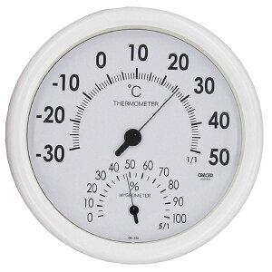 【送料無料】クレセル 日本製 温湿度計 壁掛け用 ホワイト CR-320W ダイエット・健康 健康器具 温度計・湿度計 レビュー投稿で次回使える2000円クーポン全員にプレゼント