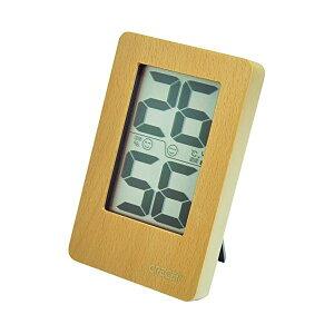 【送料無料】クレセル 天然木 デジタル 温湿度計 壁掛け・卓上用 ナチュラル CR-2200W ダイエット・健康 健康器具 温度計・湿度計 レビュー投稿で次回使える2000円クーポン全員にプレゼント