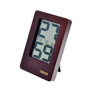 【送料無料】クレセル 天然木 デジタル 温湿度計 壁掛け・卓上用 ブラウン CR-2200C ダイエット・健康 健康器具 温度計・湿度計 レビュー投稿で次回使える2000円クーポン全員にプレゼント