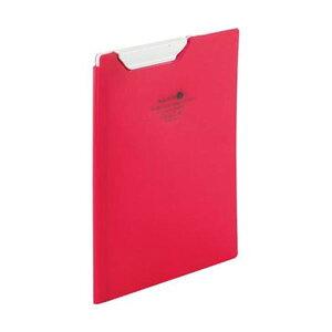 【送料無料】(まとめ)リヒトラブ AQUA DROPsクリップファイル A5 赤 F-5065-3 1枚【×20セット】 生活用品・インテリア・雑貨 文具・オフィス用品 ファイル・バインダー クリップボード・クリッ