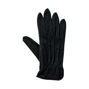【送料無料】(まとめ) 純綿すべり止め手袋アトムターボ黒 5双組 M (×5セット) 生活用品・インテリア・雑貨 日用雑貨 手袋 その他の手袋 レビュー投稿で次回使える2000円クーポン全員に
