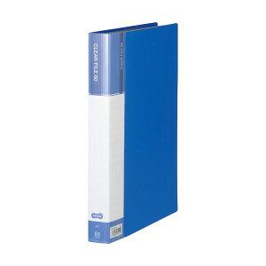 【送料無料】(まとめ) TANOSEEクリヤーファイル(台紙入) A4タテ 60ポケット 背幅34mm ブルー 1冊 【×30セット】 生活用品・インテリア・雑貨 文具・オフィス用品 ファイル・バインダー クリアケ