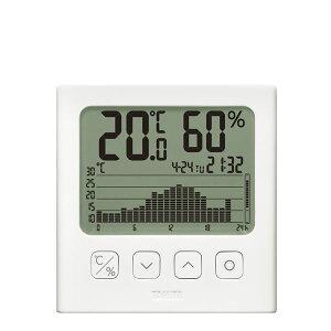 タニタ グラフ付きデジタル温湿度計 TT-581 ダイエット・健康 健康器具 温度計・湿度計 レビュー投稿で次回使える2000円クーポン全員にプレゼント