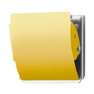 【送料無料】(まとめ) プラス マグネットクリップ ホールド Lイエロー CP-047MCR 1個 【×10セット】 生活用品・インテリア・雑貨 文具・オフィス用品 マグネット・磁石 レビュー投稿で次回
