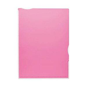 【送料無料】(まとめ)TANOSEE 超丈夫なマチ付クリアホルダー タフレル A4タテ ピンク 1パック(5枚)【×20セット】 生活用品・インテリア・雑貨 文具・オフィス用品 ファイル・バインダー