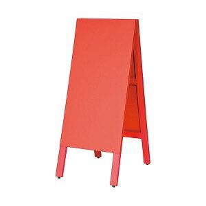 馬印 多目的A型案内板 赤いこくばんWA450VR 1枚 生活用品・インテリア・雑貨 文具・オフィス用品 黒板・ブラックボード レビュー投稿で次回使える2000円クーポン全員にプレゼント