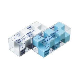 【送料無料】(まとめ) コクヨ 消しゴム カドケシプチ(ブルー・ホワイト) ケシ-U750-1 1パック(2個) 【×30セット】 生活用品・インテリア・雑貨 文具・オフィス用品 消しゴム レビュー