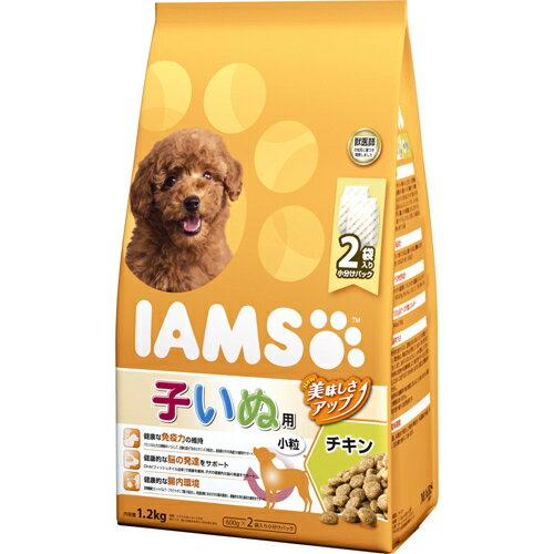 5000円以上送料無料 アイムス 12か月までの子いぬ用 チキン 小粒 1.2kg ペット用品 犬用食品(フード・おやつ) プレミアム・ドッグフード レビュー投稿で次回使える2000円クーポン全員にプレゼント