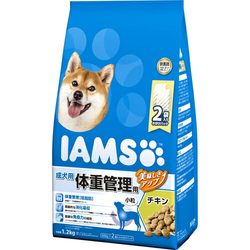 5000円以上送料無料 アイムス 成犬用 体重管理用 チキン 小粒 1.2kg ペット用品 犬用食品(フード・おやつ) プレミアム・ドッグフード レビュー投稿で次回使える2000円クーポン全員にプレゼント