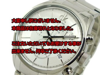Off in the review the next 2,000 yen from Calvin Klein CALVIN KLEIN Chronograph Watch K2H27126 silver