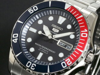 It is 2,000 yen off direct shipment SEIKO SEIKO SEIKO 5 sports 5 SPORTS self-winding watch watch SNZF15J1 in a review on the next time