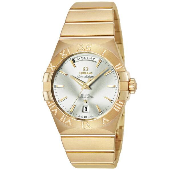 10000円以上送料無料 オメガ OMEGA コンステレーション コーアクシャル 自動巻 メンズ 腕時計 123.55.38.22.02.002 シルバー/ゴールド 【腕時計 ハイブランド】 レビュー投稿で次回使える2000円クーポン全員にプレゼント