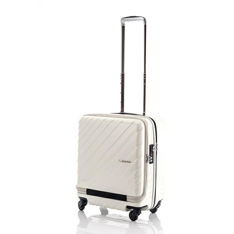 10000円以上送料無料 ヒデオワカマツ HIDEO WAKAMATSU マックスキャビン ウェーブ スーツケース 85-76294 アイボリー 代引き不可 【バッグ スーツケース】 レビュー投稿で次回使える2000円クーポン全員にプレゼント