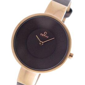 10000円以上送料無料 オバク OBAKU クオーツ ユニセックス 腕時計 V149LXVNRN ブラウン 【腕時計 海外インポート品】 レビュー投稿で次回使える2000円クーポン全員にプレゼント