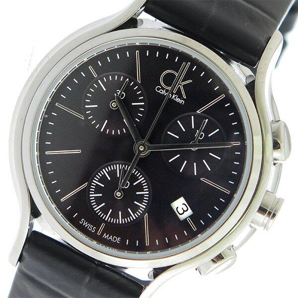 5000円以上送料無料 カルバンクライン Calvin Klein CK クロノグラフ クオーツ レディース 腕時計 K2U291C1 ブラック/ブラック 【腕時計 海外インポート品】 レビュー投稿で次回使える2000円クーポン全員にプレゼント
