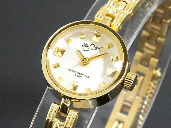 5000円以上送料無料 アラン ディベール ALAIN DIVERT レディース 腕時計 DH002-01 ホワイト/ゴールド 【腕時計 国内正規品】 レビュー投稿で次回使える2000円クーポン全員にプレゼント