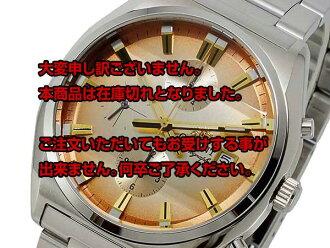 Review the next regular 2000 yen off direct Orient ORIENT quartz mens Chrono Watch WV0411TT Japan