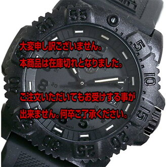 Off the next 2,000 yen in the review directly from Luminox LUMINOX Navy Seals watch 3051 BLACKOUT
