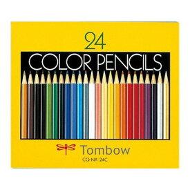 10000円以上送料無料 トンボ鉛筆 紙箱入色鉛筆NA 24色セット CQ-NA24C(1セット) ホーム&キッチン 文房具 筆記用具 レビュー投稿で次回使える2000円クーポン全員にプレゼント