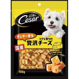 10000円以上送料無料 シーザースナック チェダー香るコクと香りの贅沢チーズ(100g) ペット用品 犬用食品(フード・おやつ) 犬用おやつ(間食・スナック) レビュー投稿で次回使える2000円クーポン全員にプレゼント