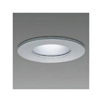 附带供礼物DAIKO基础降低灯所下边使用对下次所有的可以使用的2000日元优惠券用评论投稿的电灯交换型电灯的配光角60°埋入洞孔φ75防雨、防湿形40W形LED电灯4.7W E17白天白银子LZW-92357WS