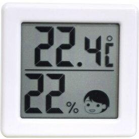 レビュー投稿で次回使える2000円クーポン全員にプレゼント ドリテック 小さいデジタル温湿度計 O-257WT 【生活家電\ノギス・計測器】