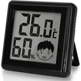 レビュー投稿で次回使える2000円クーポン全員にプレゼント ドリテック デジタル温湿度計「ピッコラ」 ブラック O-282BK 【生活家電\ノギス・計測器】