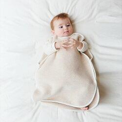 スリーパー☆オーガニックコットン100%☆赤ちゃんもぐっすり!寝返りしてもお腹はだけない♪〜メイドインアースのオーガニックコットン製品〜