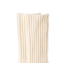 リブソックス【厚手/M】メイドインアースオーガニックコットンオーガニックコットン国産日本製綿100%生地レディース婦人用ベーシック靴下くつしたソックス無地あったか天然丈夫厚手冷えとり冷え対策プレゼントギフト【RCP】