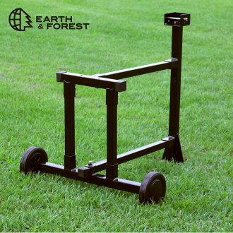 7 吨劈柴机站劈柴机 (EF-7T-01 A) 可选配件柴灶木木质货架篦