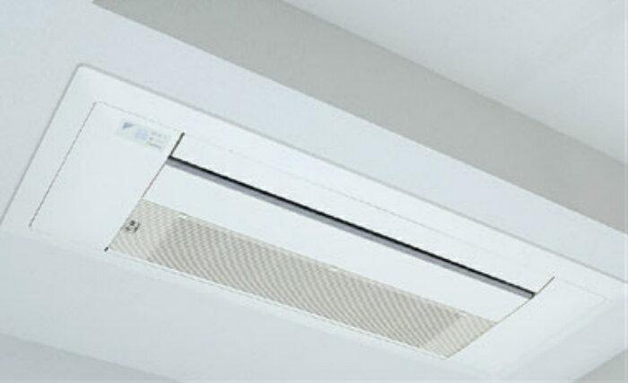 家庭用天井埋込エアコンの分解・高圧クリーニング4台