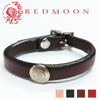 With red moon REDMOON leather bracelet RM-WBA concho