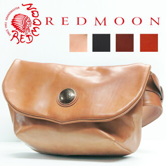 """Red moon REDMOON leather body bag """"native Hertz"""" S-NATIVEHEARTS-L"""