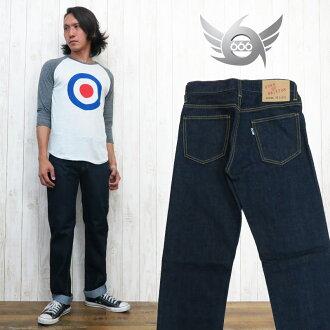 """666笔直牛仔裤""""GUNS OF BRIXTON""""70'S UK风格三倍六"""